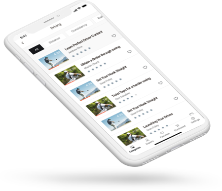 Revolution Golf App IOS